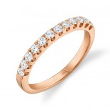 0.50ct 14k Rose Gold Diamond Lady