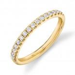 0.25ct 14k Yellow Gold Diamond Lady