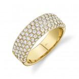 1.32ct 14k Yellow Gold Diamond Lady