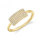 0.21ct 14k Yellow Gold Diamond Lady