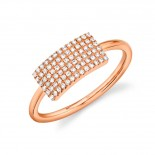 0.21ct 14k Rose Gold Diamond Lady