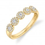 0.40ct 14k Yellow Gold Diamond Lady