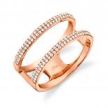 0.30ct 14k Rose Gold Diamond Lady
