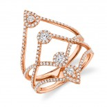 0.71ct 14k Rose Gold Diamond Lady