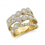 1.54ct 14k Yellow Gold Diamond Lady