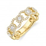 0.53ct 14k Yellow Gold Diamond Lady