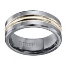 Triton Gents 8mm Tungsten Carbide Comfort Fit Band