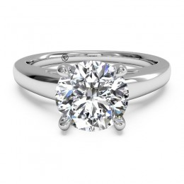 Ritani Cathedral Surprise Diamond Solitaire Semi Mounting