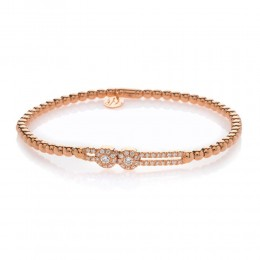 Hulchi Belluni Stretch Bracelet, 18K Rose Gold