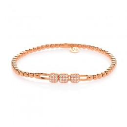 Hulchi Belluni Tresor Bracelet, 18K Rose Gold