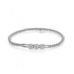 Hulchi Belluni Tresor Bracelet, 18K White Gold