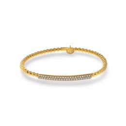 Hulchi Belluni Tresor Bracelet, 18K Yellow Gold