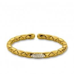 Hulchi Belluni Flex  Bracelet, 18K Yellow Gold