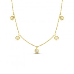 Roberto Coin Diamonds By The Inch Necklace