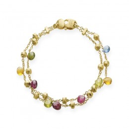 Paradise Gold and Mixed Stones Bracelet