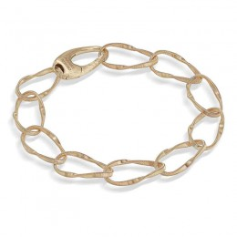 Marrakech Onde Yellow Gold Single Strand Bracelet