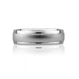 Platinum Gents Wedding Band
