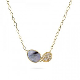 Lunaria Gold Necklace