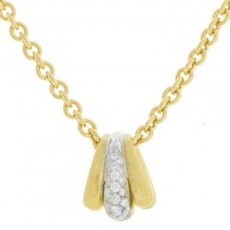 Lucia Diamond Pendant Necklace