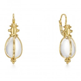 Temple St. Clair 18K Alassic Amulet Earrings