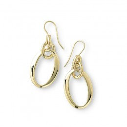 IPPOLITA E.F. Classico Short Oval Link Earrings
