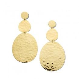 IPPOLITA Classico Crinkle Large Snowman Earrings