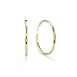 IPPOLITA E.F. Classico Large Faceted Hoop Earrings