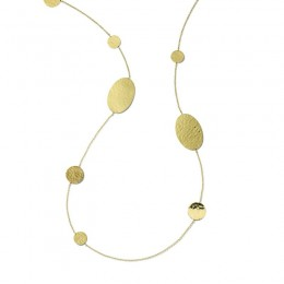 IPPOLITA Classico Crinkle Oval & Circles Necklace