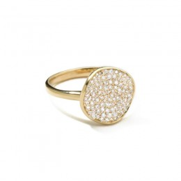 IPPOLITA Gold Stardust Pave Ring