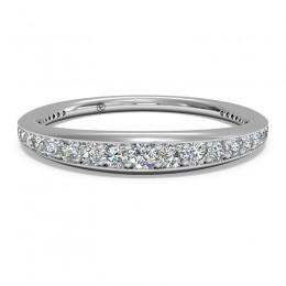 Ritani Pave Diamond Diamond Wedding Band