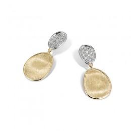 Marco Bicego Lunaria Petite Double Drop Earrings