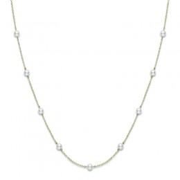 Mikimoto Akoya Pearl Station Necklace