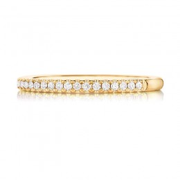 Henri Daussi Half Way Diamond Band