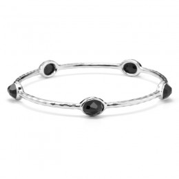 IPPOLITA Rock Candy® 5-Stone Bangle in Black Onyx