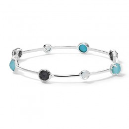 IPPOLITA Rock Candy® Mixed Stone Bangle in Maritime