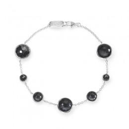IPPOLITA Lollipop® 7-Stone Link Bracelet in Hematite