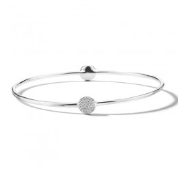 IPPOLITA Stardust 2-Flower Station Bangle with Diamonds