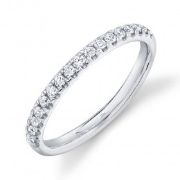 0.25ct 14k White Gold Diamond Lady