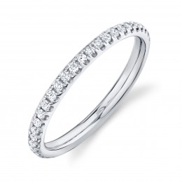 0.40ct 14k White Gold Diamond Eternity Lady