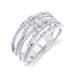 0.67ct 14k White Gold Diamond Lady