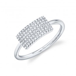 0.21ct 14k White Gold Diamond Lady