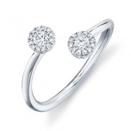 0.23ct 14k White Gold Diamond Lady