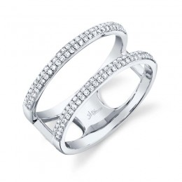 0.30ct 14k White Gold Diamond Lady
