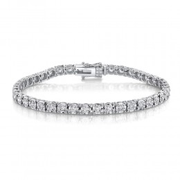 3.00ct 14k White Gold Diamond Lady