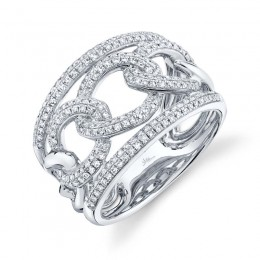 0.61ct 14k White Gold Diamond Lady