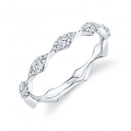 0.38ct 14k White Gold Diamond Lady