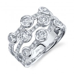 1.58ct 14k White Gold Diamond Lady