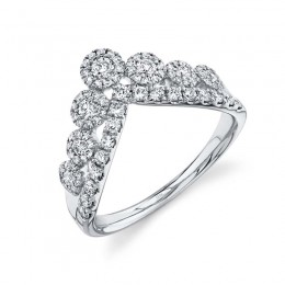 0.66ct 14k White Gold Diamond Lady