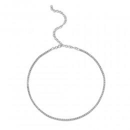0.95Ct Diamond Tennis Necklace
