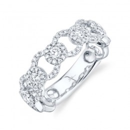 0.53ct 14k White Gold Diamond Lady